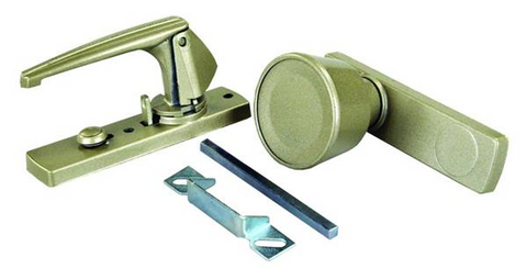 JR Products 20495 Door Knob and Latch Set