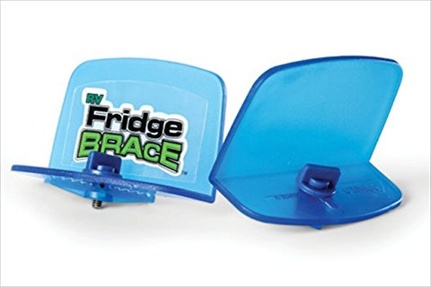 Camco RV Fridge Brace -Holds Food and Drinks in Place During Travel, Prevents Messy Spills Perfect For RVs, Boats, Camping and More - (2 Pack) (44033)