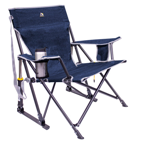 GCI Outdoor Kickback Rocker™ - Heathered Indigo