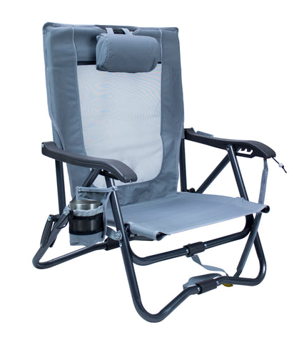 GCI Outdoor Bi-Fold Slim Event Chair™ - Mercury Gray