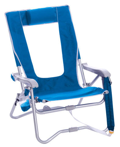 GCI Outdoor Bi-Fold Beach Chair™ - Saybrook Blue