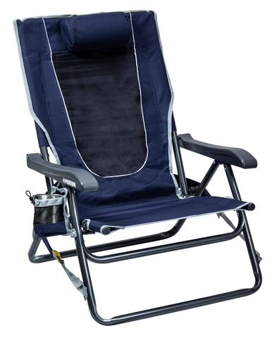 GCI Outdoor Backpack Event Chair™ - Indigo Blue