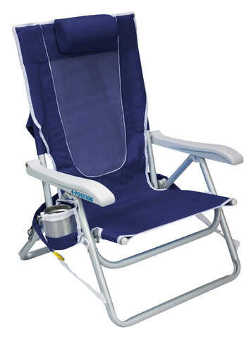 GCI Outdoor Backpack Beach Chair™ - Nautical Blue