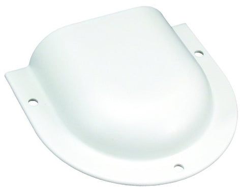 JR Products 298-01-A-PW-A Horseshoe Vent, Polar White