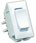 JR Products 13435 On/Off/On Switch - White