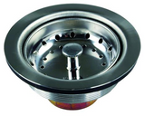 JR Products 95295 Large Kitchen Strainer - Stainless Steel