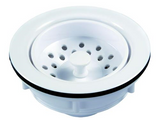 JR Products 95275 Large Kitchen Strainer - White