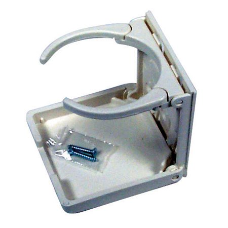 American Technology CH00100-WHT-1 Collapsible and Adjustable Drink Holder - White