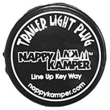AP Products 008-100 Nappy Kamper Trailer Light Plug