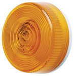 Peterson Round Clearance Light - Amber  M104A