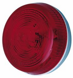 Peterson Round Clearance Light - Red M104R