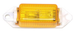 Peterson Mfg. V107WA #107W Amber Mini Clearance Light