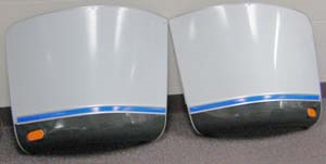 Airstream Segment Protectors Curbside 685276-02 /Roadside 685276-01 /Set 685276, second half 1982 to 1993