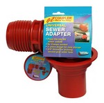 Valterra Red F02-3103 EZ Coupler 90° Universal Sewer Adapter