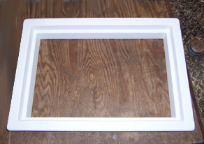 Interior Trim Ring - Bathroom Skylight