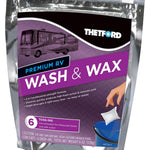 Thetford 96008 Premium Wash & Wax Toss-Ins-Detergent and Wax for Cars, RVs, Boats, Trucks-6x1 oz packets-Thetford-96008