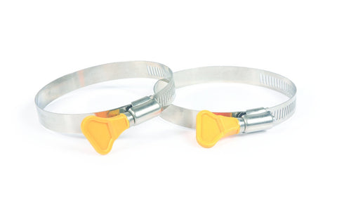 "Camco 39553 RV Sewer Hose 3"" Twist-It Clamps - Pack of 2"