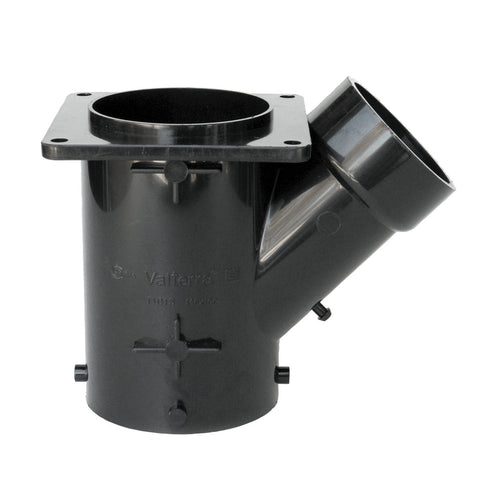 "Valterra Black T1015 Flanged Valve Fitting-3"" Wye Collector"