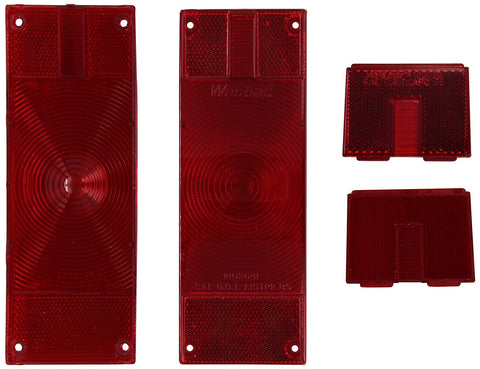 "Wesbar 403336 Replacement Lens-Over 80"" Low Profile Taillights"