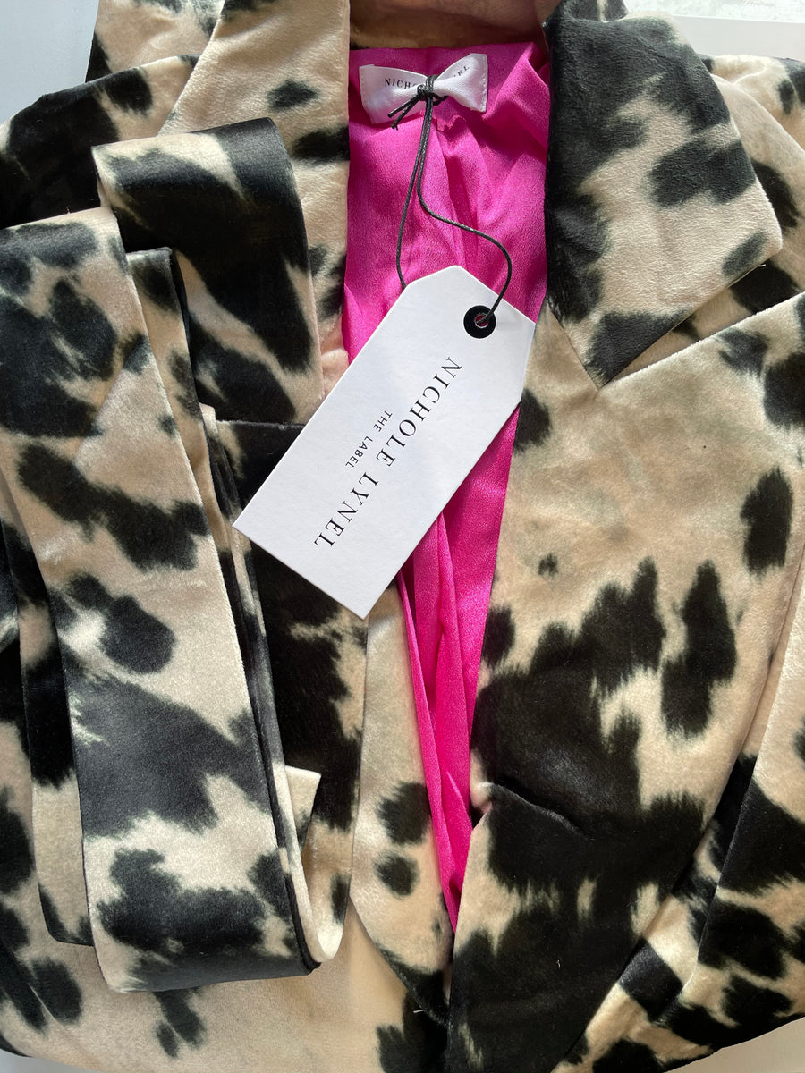 Old Town Road | Cow Printed Coat
