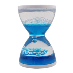 Blue Acrylic Liquid Timer - Medium - Tootpado