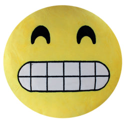 smiley pillow emoji plush