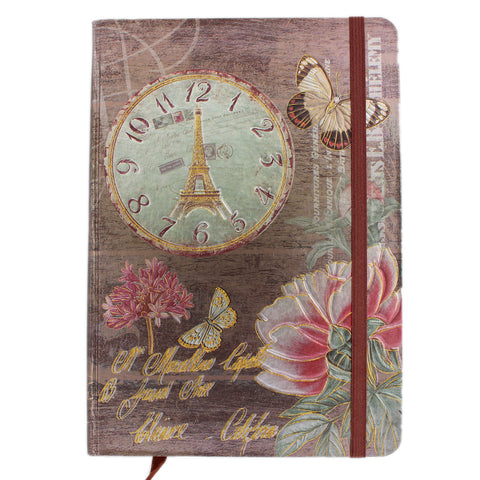 Tootpado Clock Journal 100 pages - Diary, Notebook - Tootpado