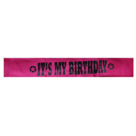 Cute Girly, Its My Birthday Sash - Tootpado - 1