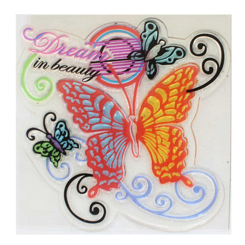 Dream In Beauty Clear Rubber Stamp (CRS104) - 1l963 - Tootpado