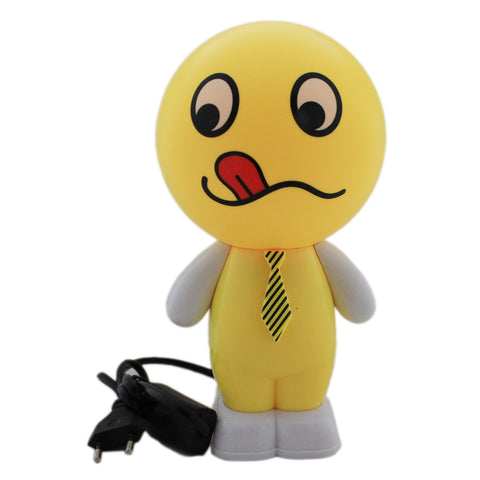 Smiley Cartoon LED Desk Lamp  - 1m190 - Table Lamp, Desk Light, Study Lamp (Size: 12x12x24 cm) - Tootpado - 1