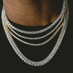 4MM Iced Out Tennis Chain