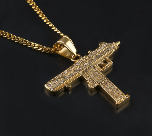 Lil Uzi Iced Out Diamond Chain