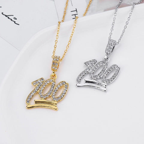 Diamond 100 Pendant