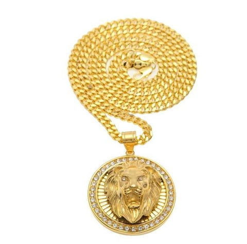 Iced Out Lion Chain