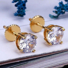 Iced Out Large Earring Stud