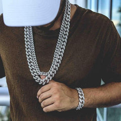 Paved Iced Out Miami Curb Cuban Link Bracelet