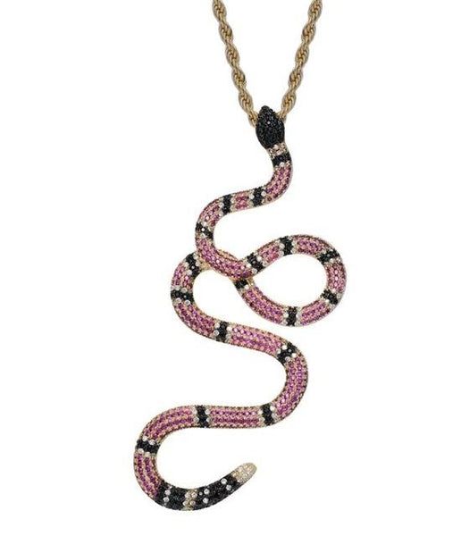 Gucci Snake Diamond Pendant