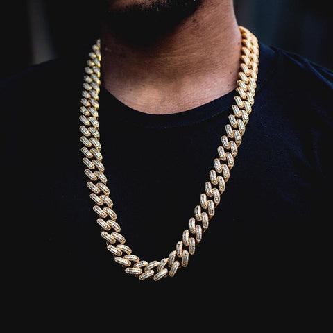Iced Out Miami Cuban Link Chain