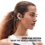 AfterShokz AEROPEX Open-Ear Wireless Bone Conduction Headphones - Cosmic Black