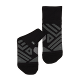 ON Mens Mid Running Socks - Black Shadow