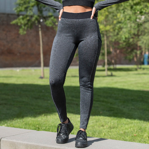 Girlie Cool Dynamic Leggings JC078 - Black Slate Melange