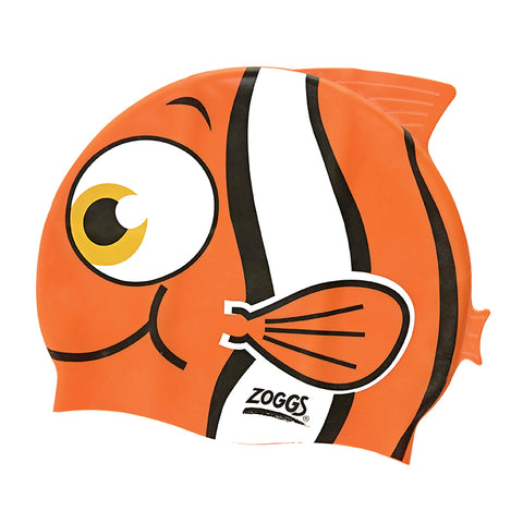 Zoggs Junior Character Silicone Swim Cap 6-14 yrs