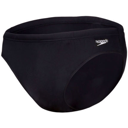 Speedo Black Junior Boys Endurance Plus Brief
