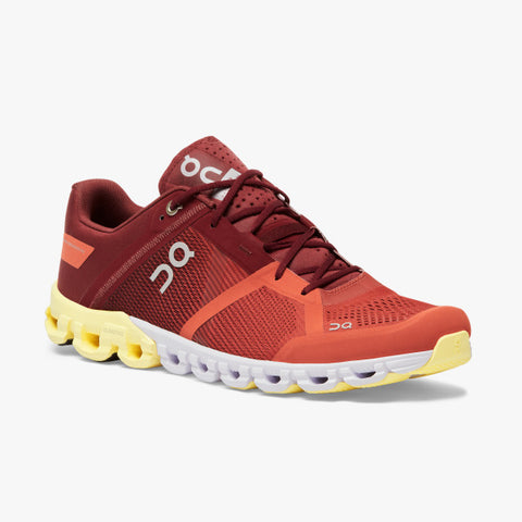ON Cloudflow Men's Running Shoe Rust/Limelight