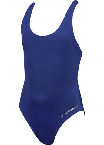 Aqua Sphere Eva Kids Swimsuit - Navy Blue