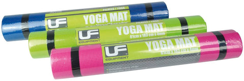 Urban Fitness 4mm Yoga Mat with Shoulder strap