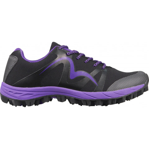 More Mile Cheviot Black/Purple/Lime Womens