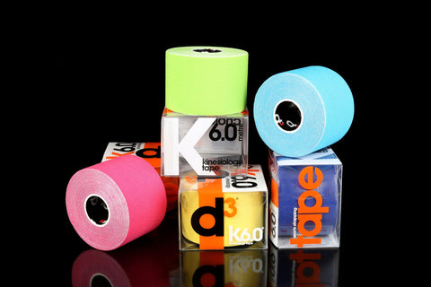 D3 K6.0 Kinesiology Tape 6m