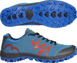 More Mile Cheviot 3 Mens Trail Running Shoes - Blue/Black/Red