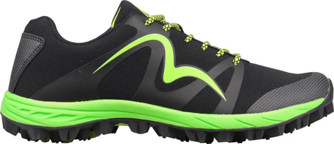More Mile Cheviot 4 Black/Lime Green